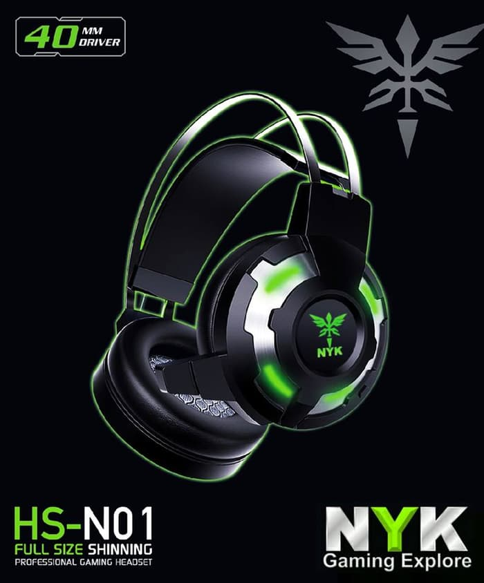 NYK Headset Gaming HS-N01