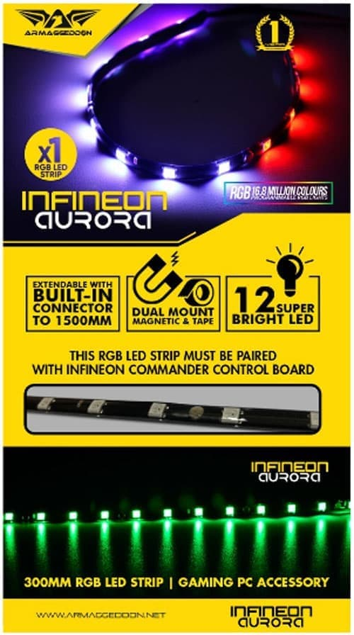 Powerlogic Armaggeddon Infineon Aurora (LED 1x STRIP)