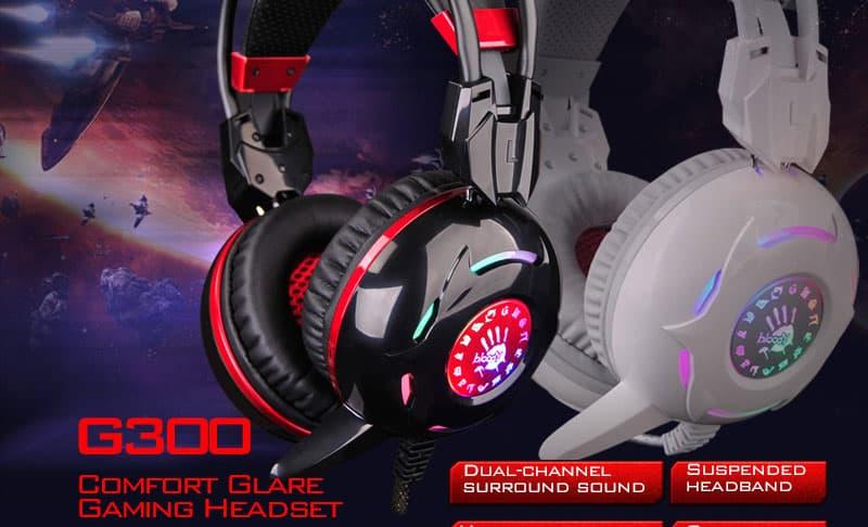 Bloody G-300 (Black, White)