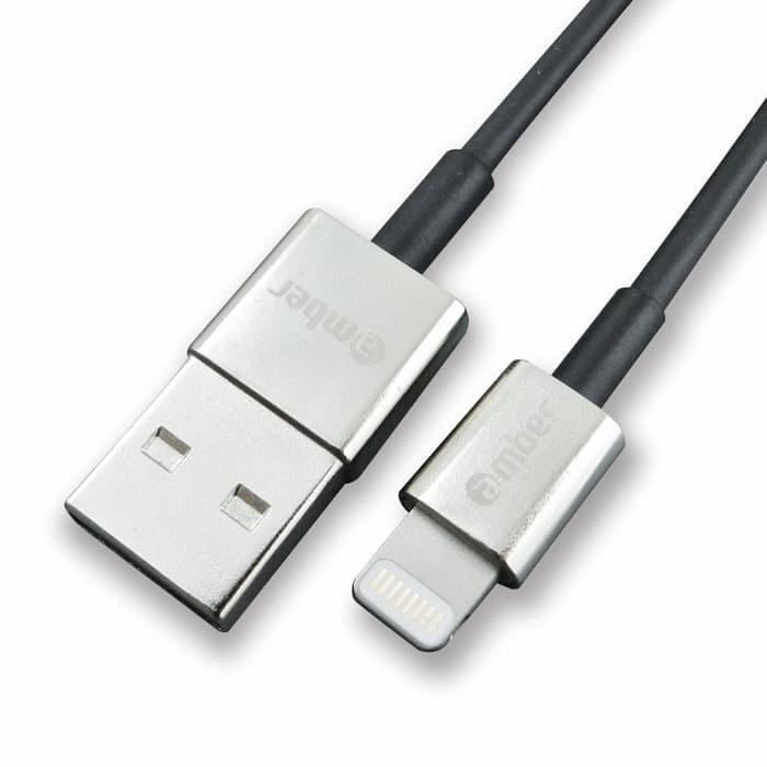 Amber ALT-U02 - Apple USB Lightning Cable, 1.2M, Zinc Alloy, OFHC