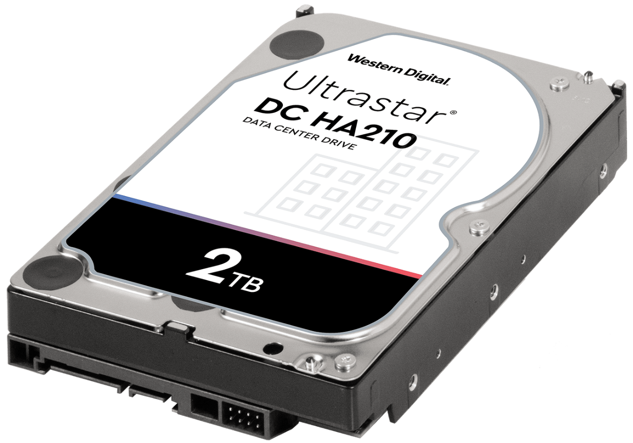 WDC 2TB Ultrastar DC HA210 - Ultrastar DC HA200 Series