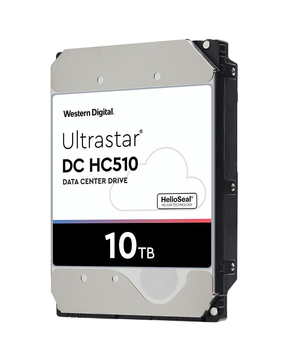 WDC 10TB Ultrastar DC HC510 - Ultrastar DC HC500 Series