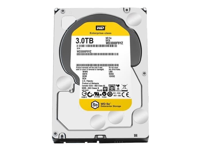 WDC NAS SE 3TB 7200RPM SATA3 - WD3000F9YZ (Ready !!!)