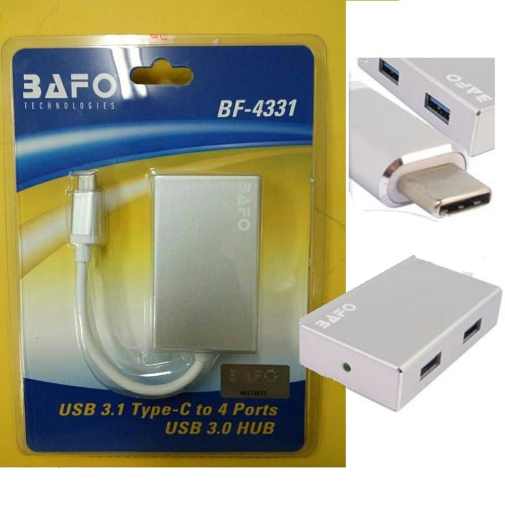 Kabel Type C USB To HUB 3.0 4 Port - Merk Bafo (BF-4331)