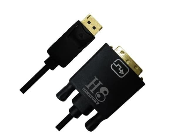 Kabel Display Port To DVI-D Dual Link 2 Meter (HINEIGHT(H8))