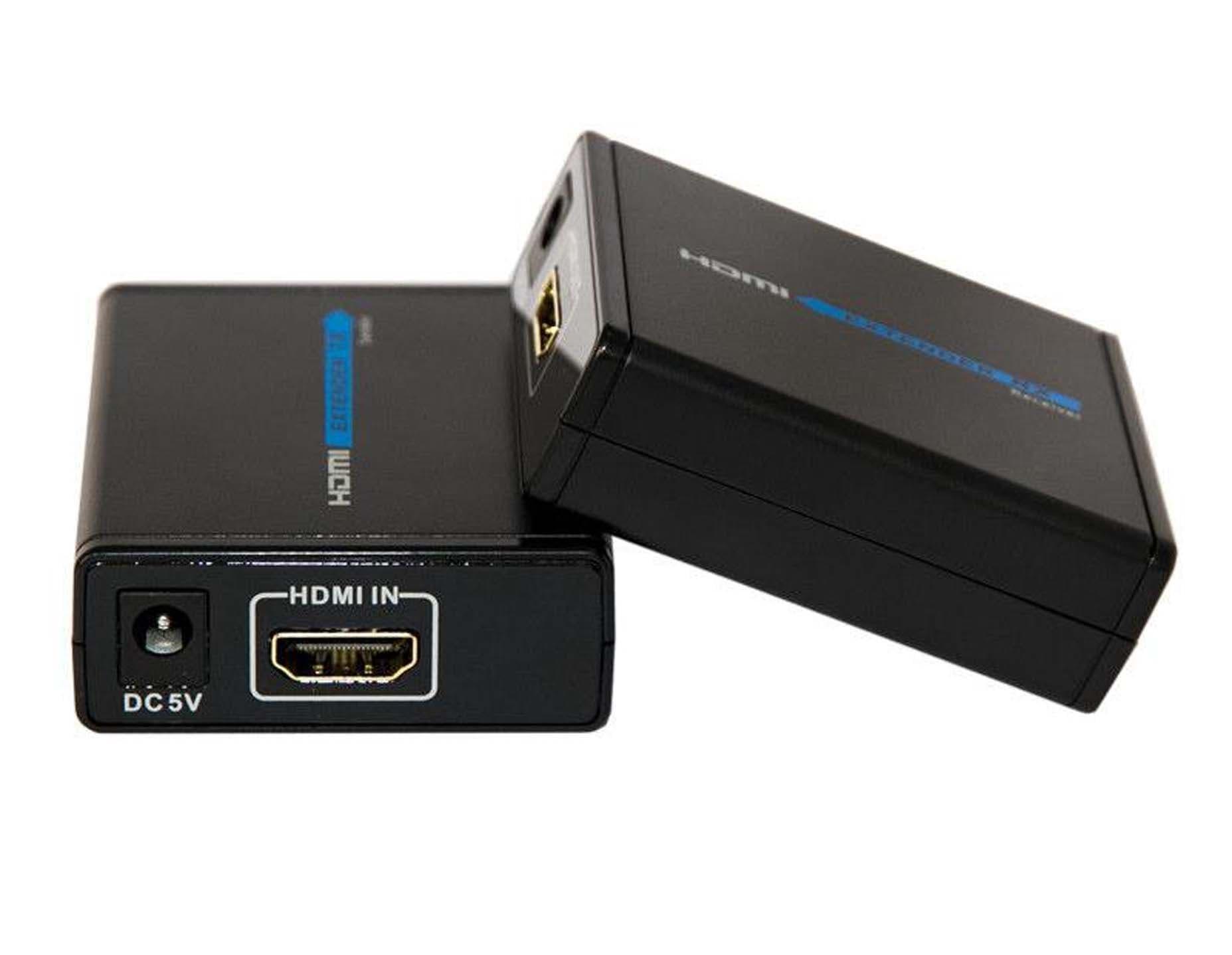 HDMI Extender 120 Meter Via UTP Merk Bafo - BF-373