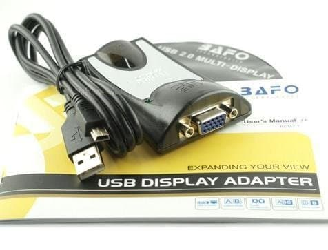 USB 2.0 To SVGA Adapter - Bafo (BF-4918)