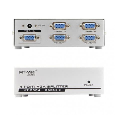 VGA Splitter 1-4 (250 Mhz) - Bafo