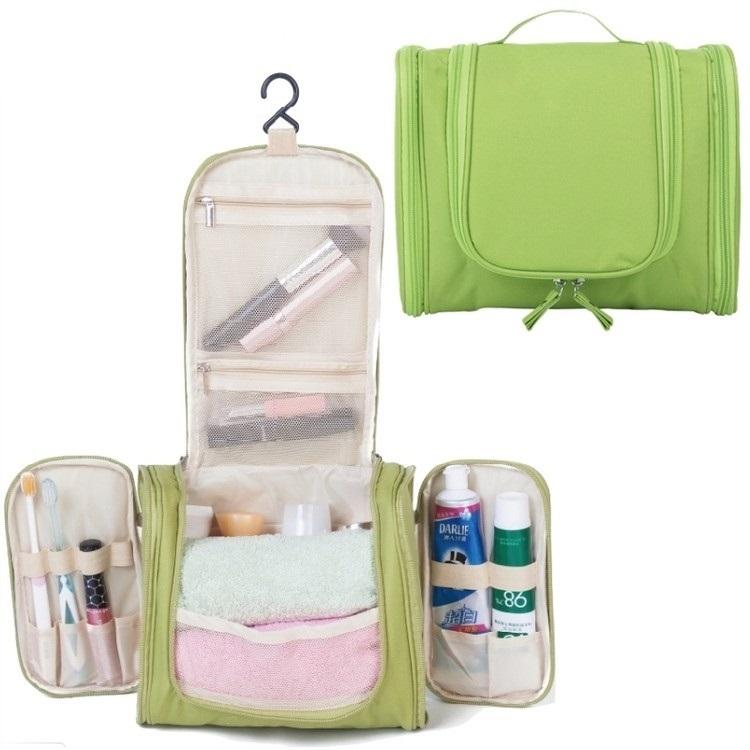 Tempat Penyimpanan Tas Travel Untuk Make up or Pouch Kosmetik Extended - Green thumbnail