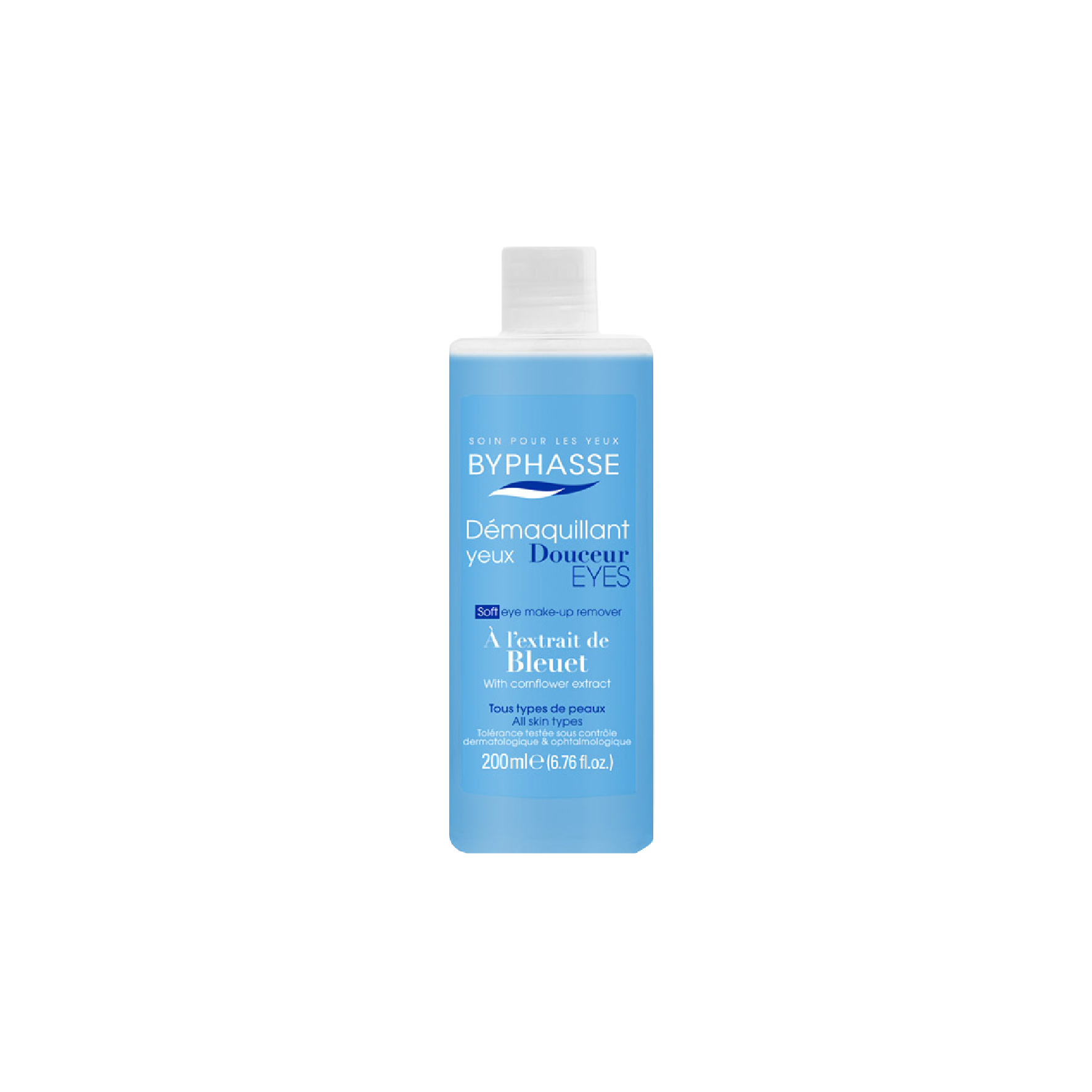 Byphasse Soft Eye Make Up Remover Cornflower Extract 200Ml thumbnail
