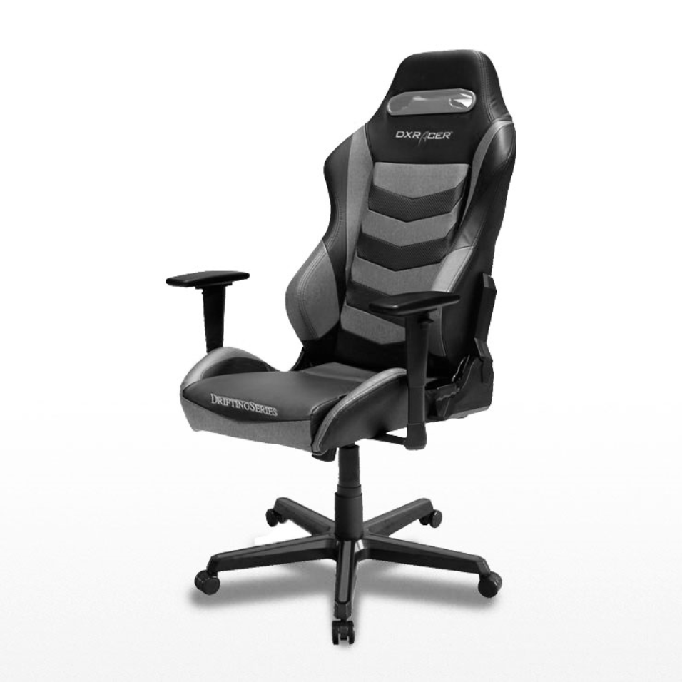 DX Racer Iron Series GC-I166/NG-S4 - Black, Grey