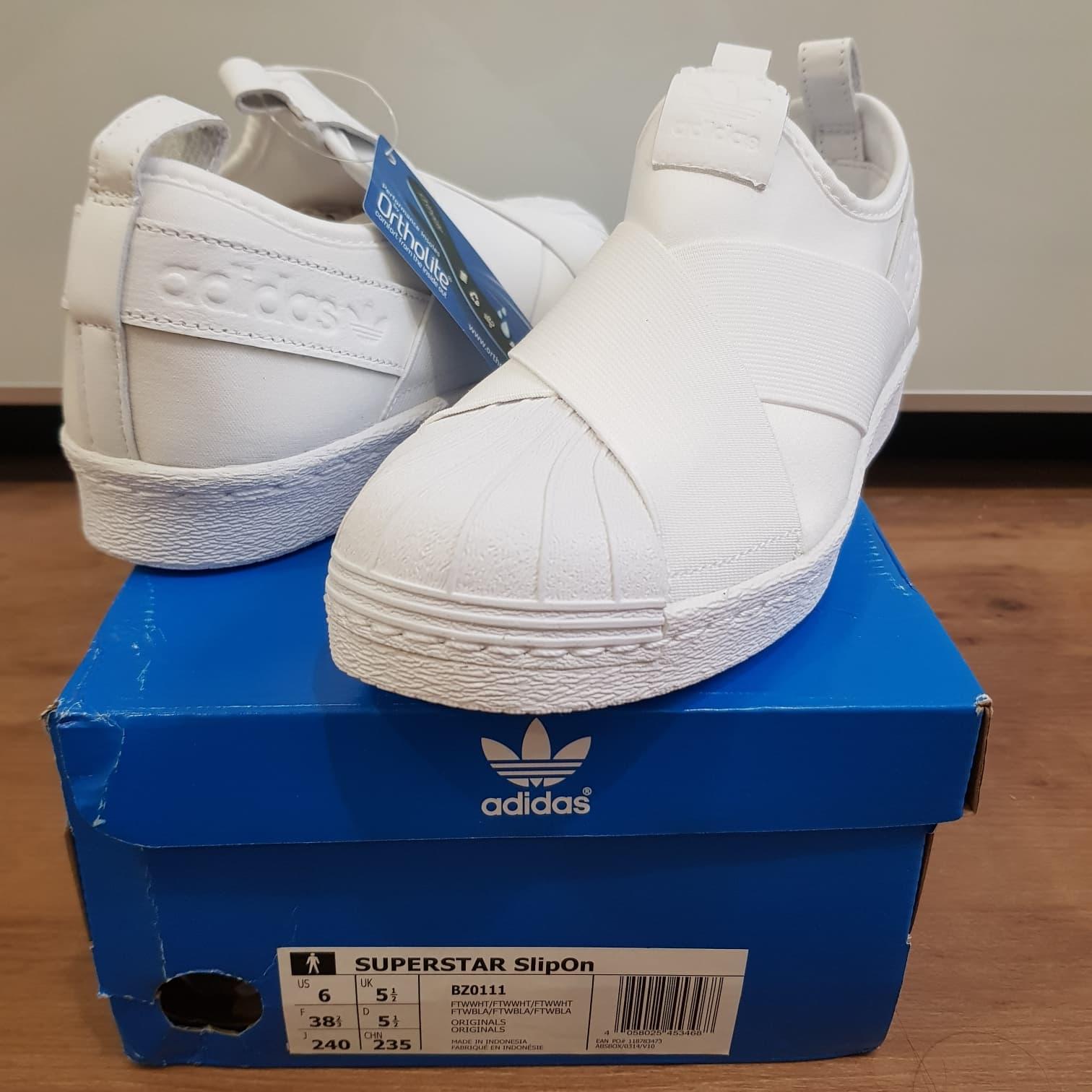 separation shoes 86374 2d547 Jual Adidas superstar slip on original size 38,5 - , - DKI ...