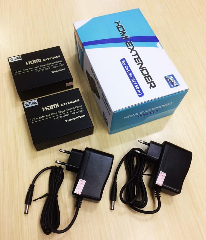 HDMI Extender 60 Meter Via UTP Netline