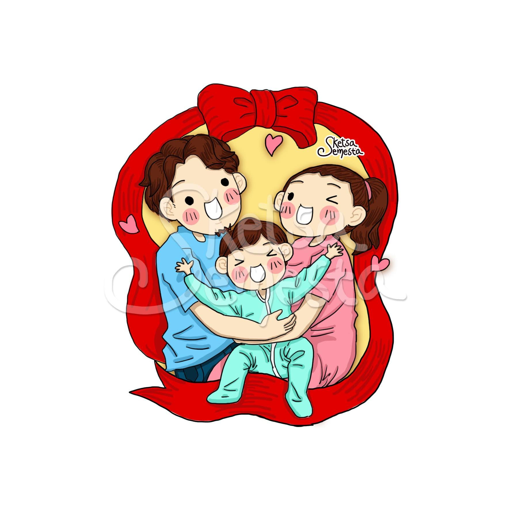 100 Gambar Sketsa Foto Keluarga Terbaik Gambar Pixabay