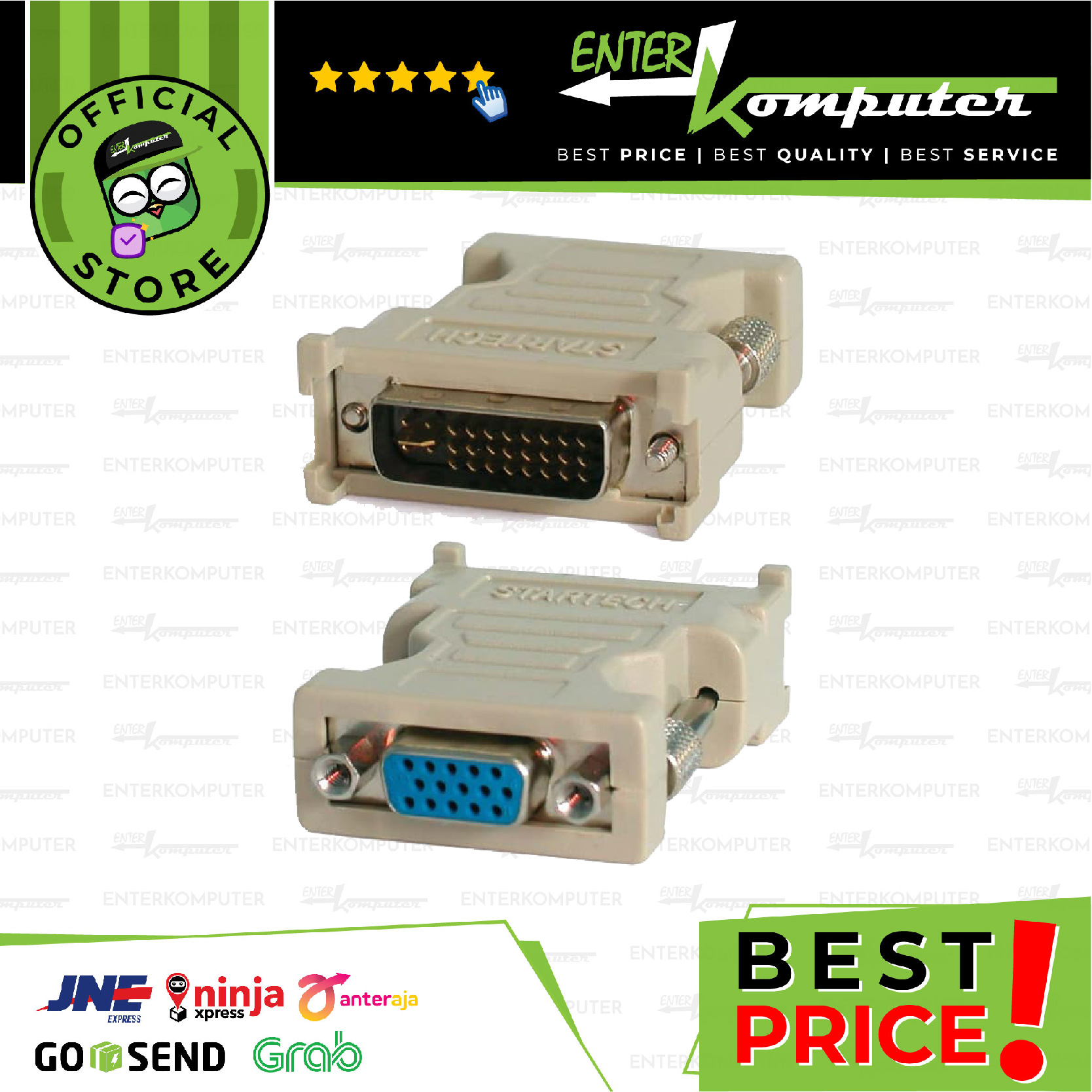 Connector / Konverter DVI To VGA