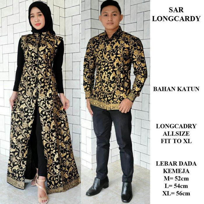Jual Sarimbit Batik Baju Batik Couple Keluarga Modern Seragam Batik Kota Banjarmasin Awwaluhu Tokopedia