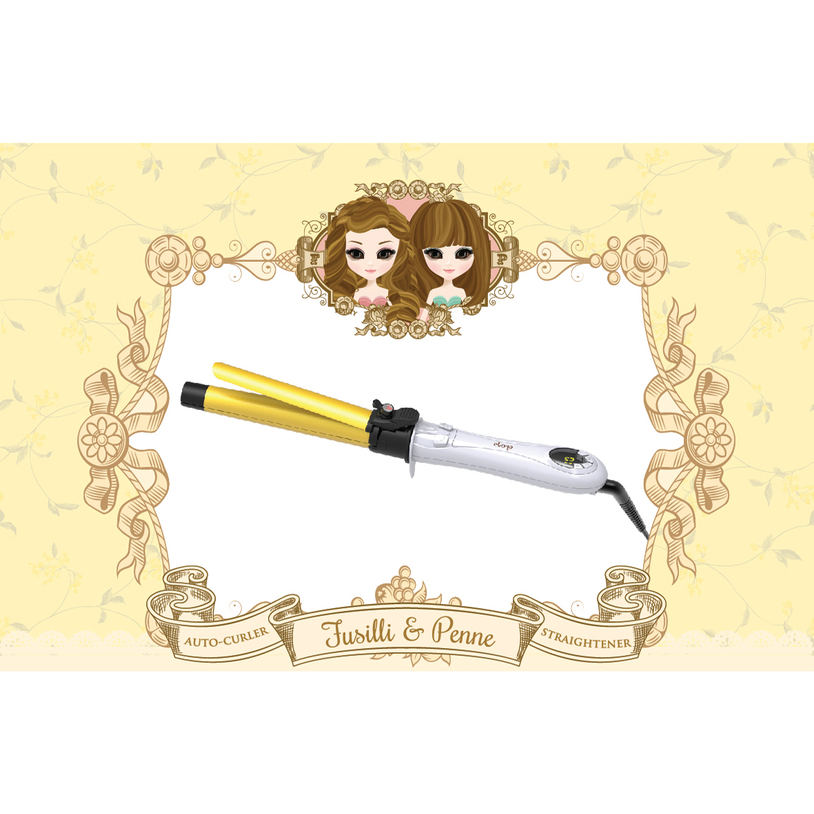 ELONA FUSILLI AND PENNE AUTO-CURLER AND STRAIGHTENER thumbnail