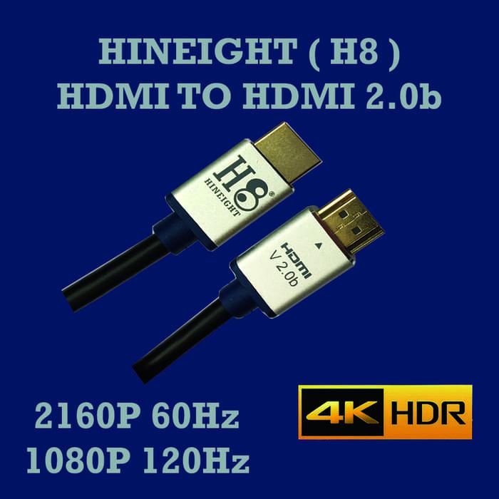 Kabel HDMI To HDMI V2.0 3D 4K 5 Meter (HINEIGHT(H8))