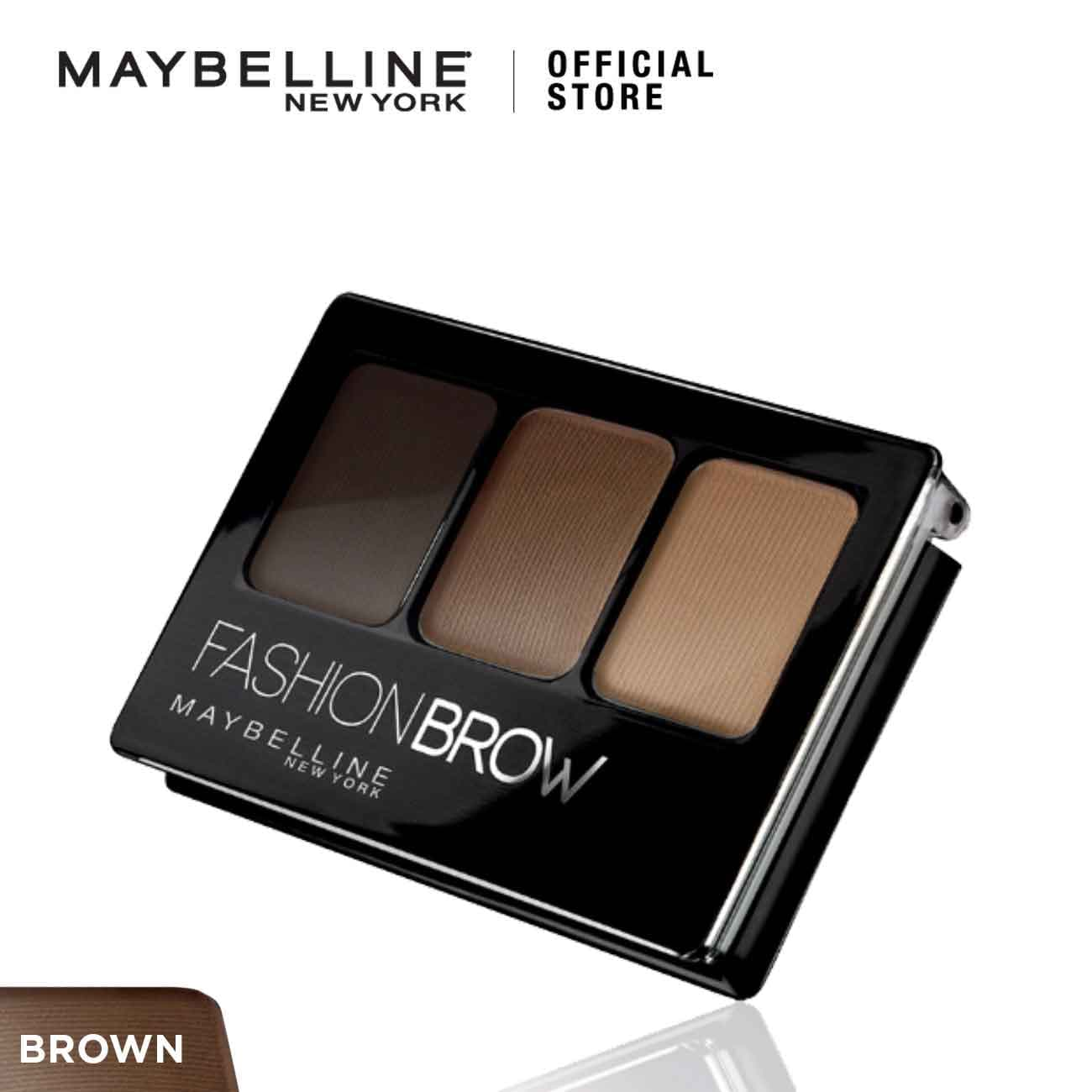 Maybelline Fashion Brow Pallette Make Up - Brown thumbnail