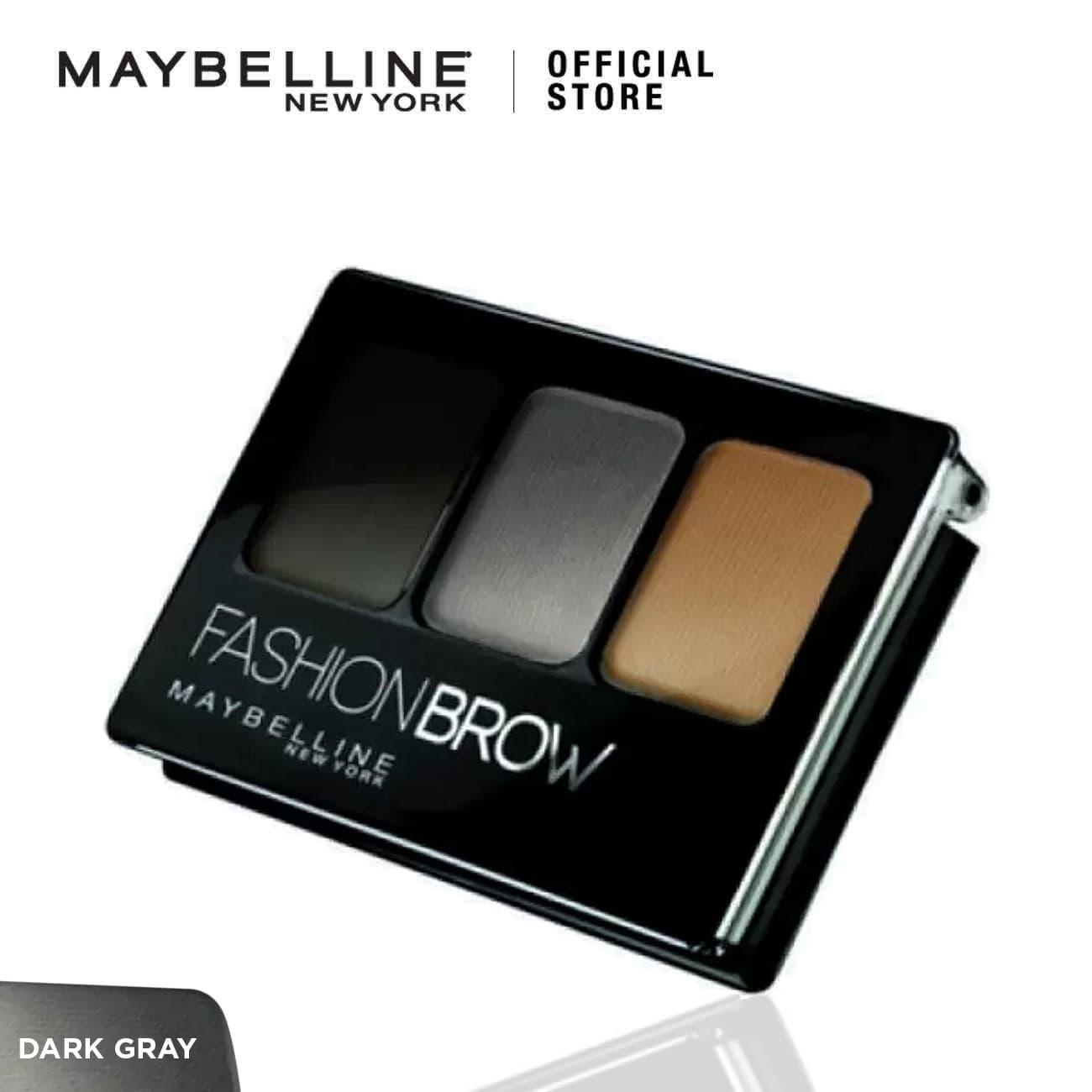 Maybelline Fashion Brow Pallette Make Up - Dark Gray thumbnail