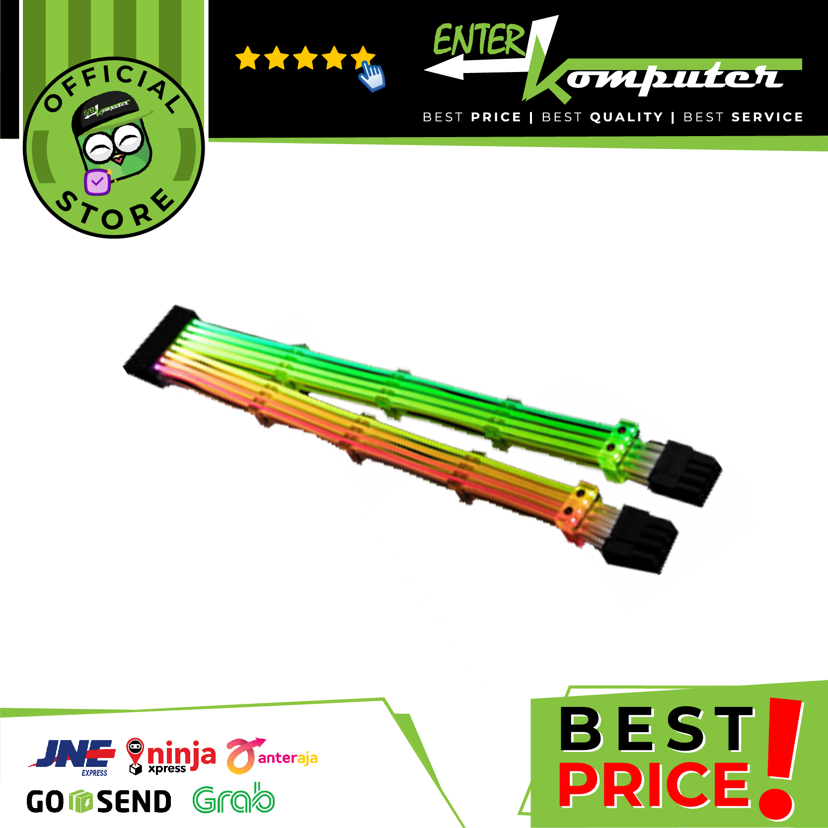 LIAN LI STRIMER RGB 8 PIN PSU CABLE