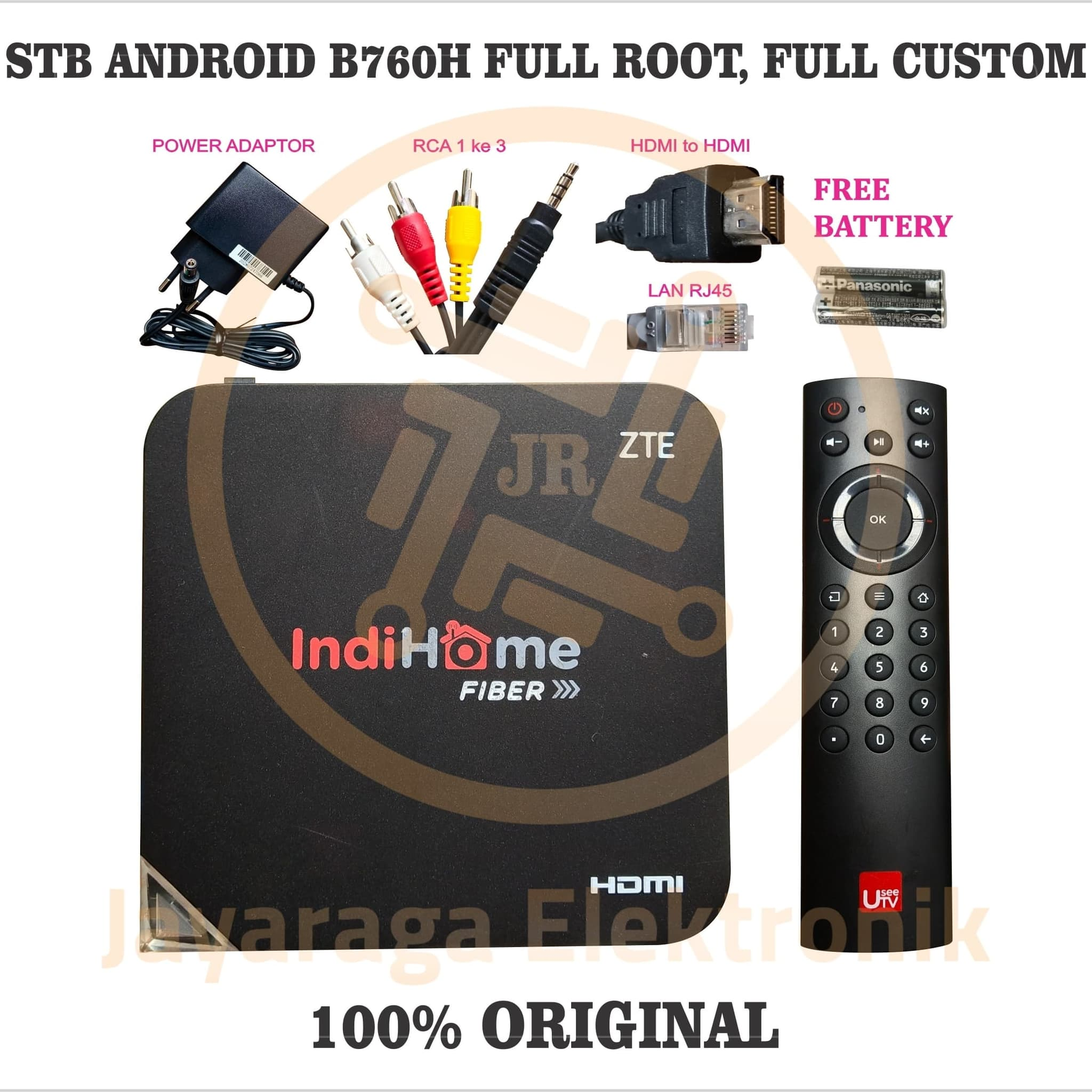 Jual STB Android ZXV10-B760H ROOT OS Full Android