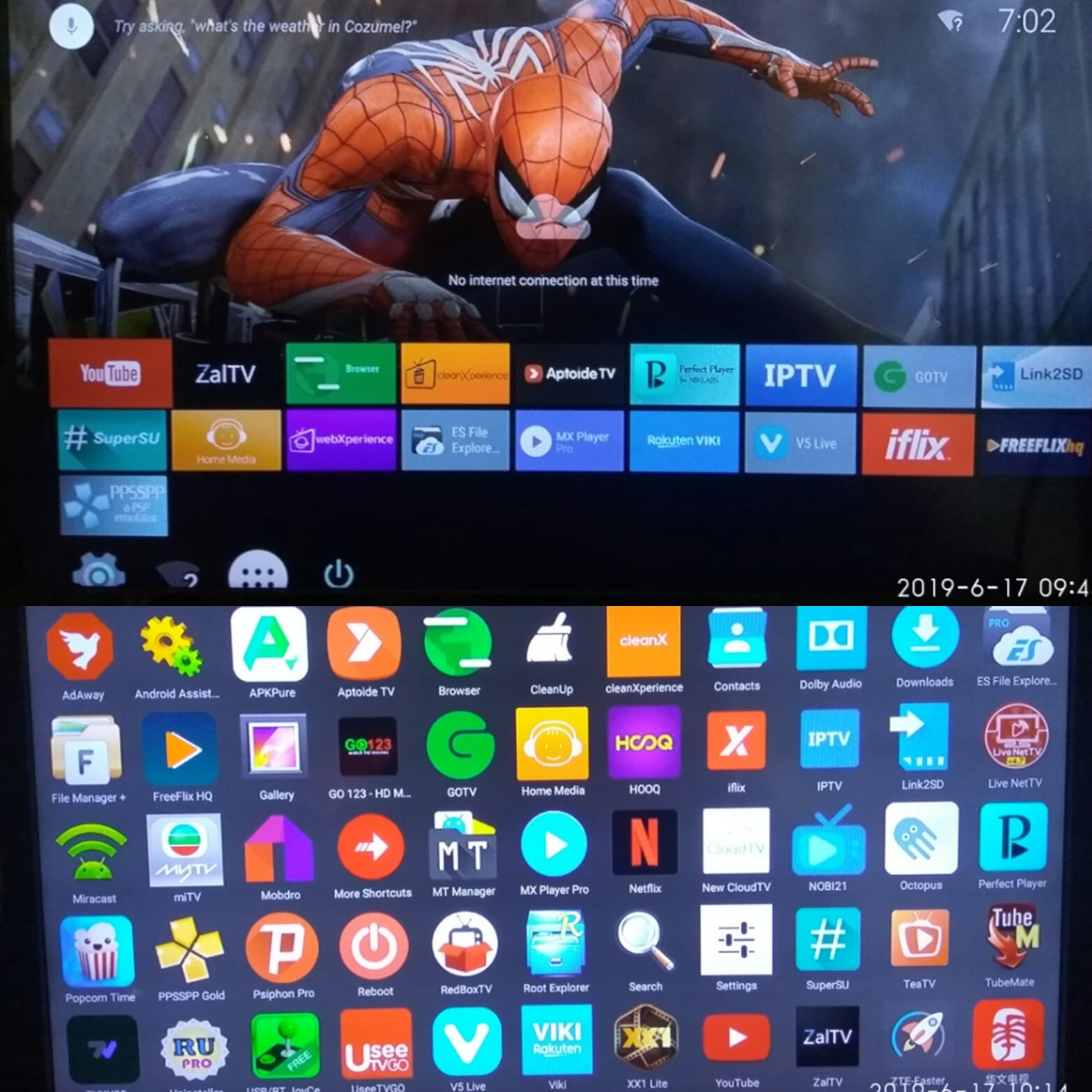 Jual Stb Android tv box stb indihome 4K ROOT stb zte B860H