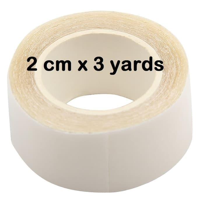 B026 isolasi adhesive double tape toupee lem wig 3 yards thumbnail