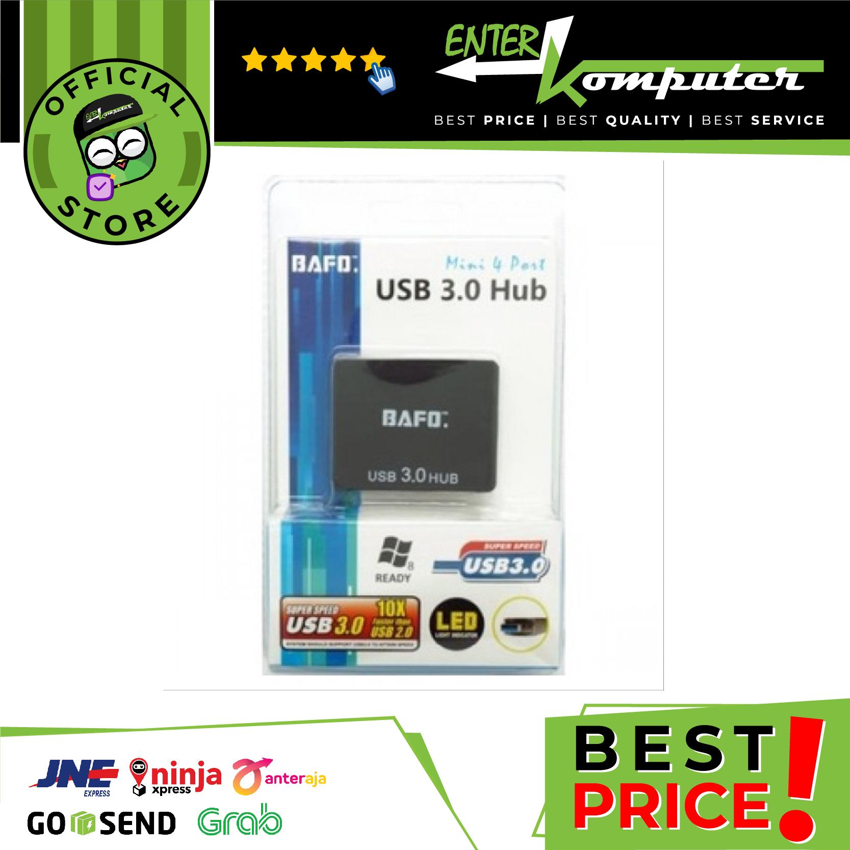 Bafo USB HUB 4 Port USB 3.0 No Adaptor - BF-710