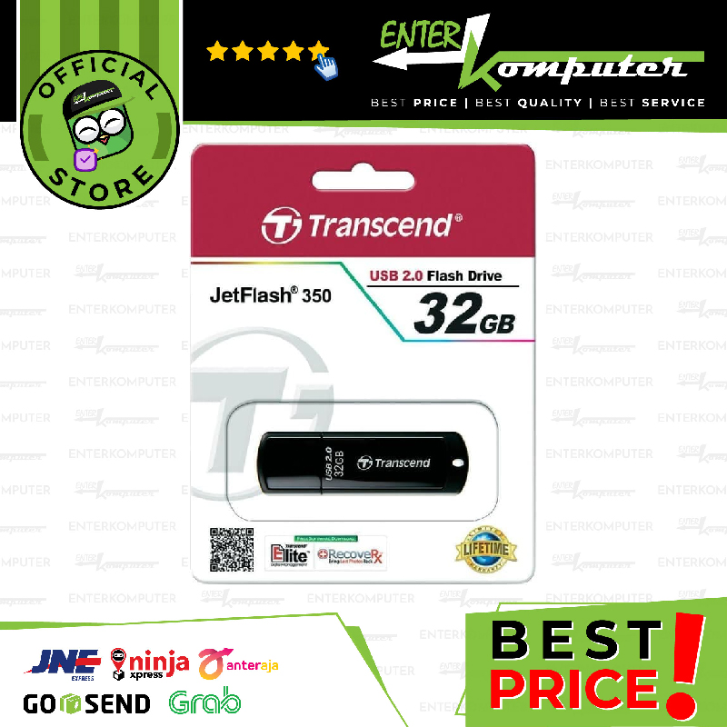 Transcend 32GB Jetflash 350/370 32GB - No Warranty
