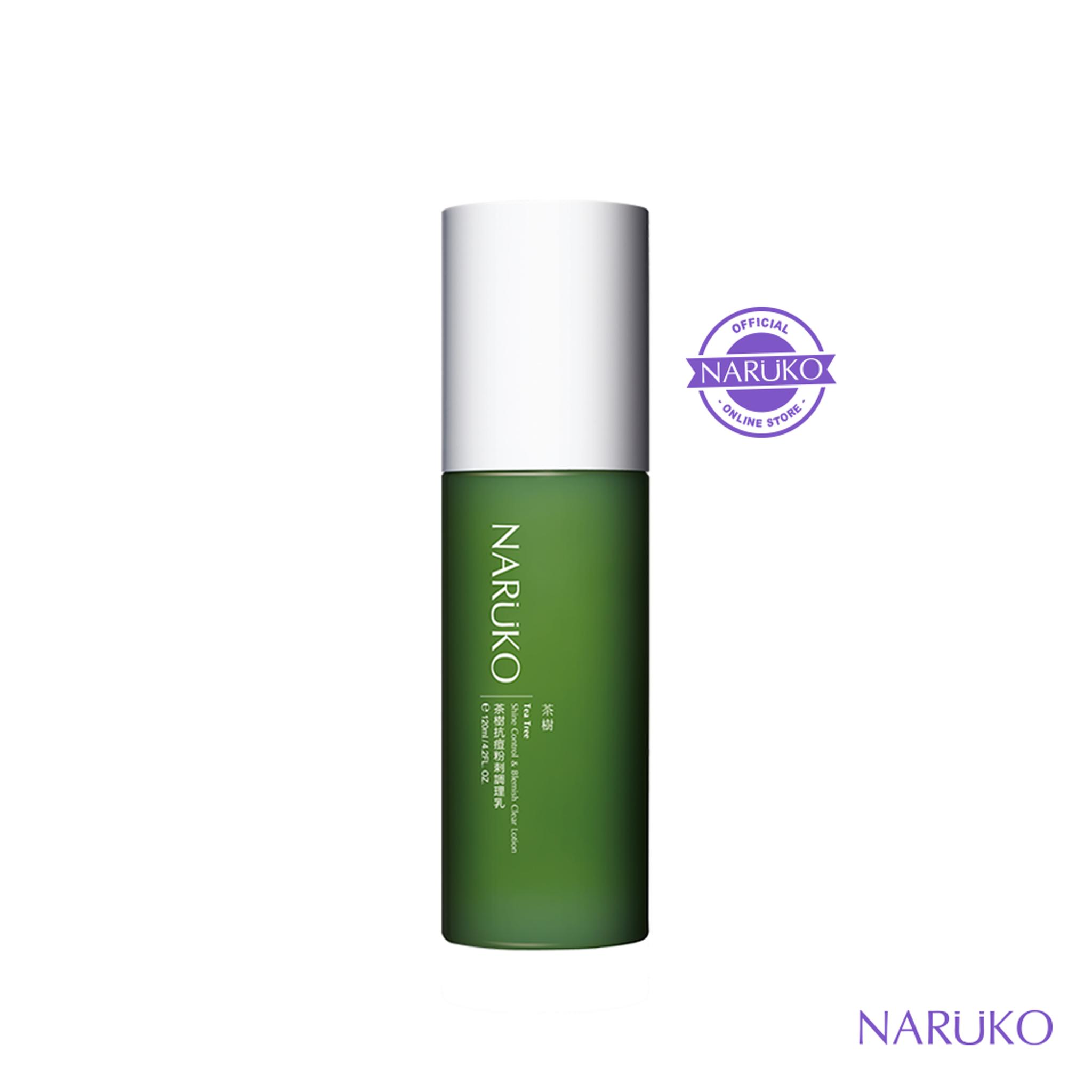 Naruko Tea Tree Shine Control & Lotion 120ML thumbnail