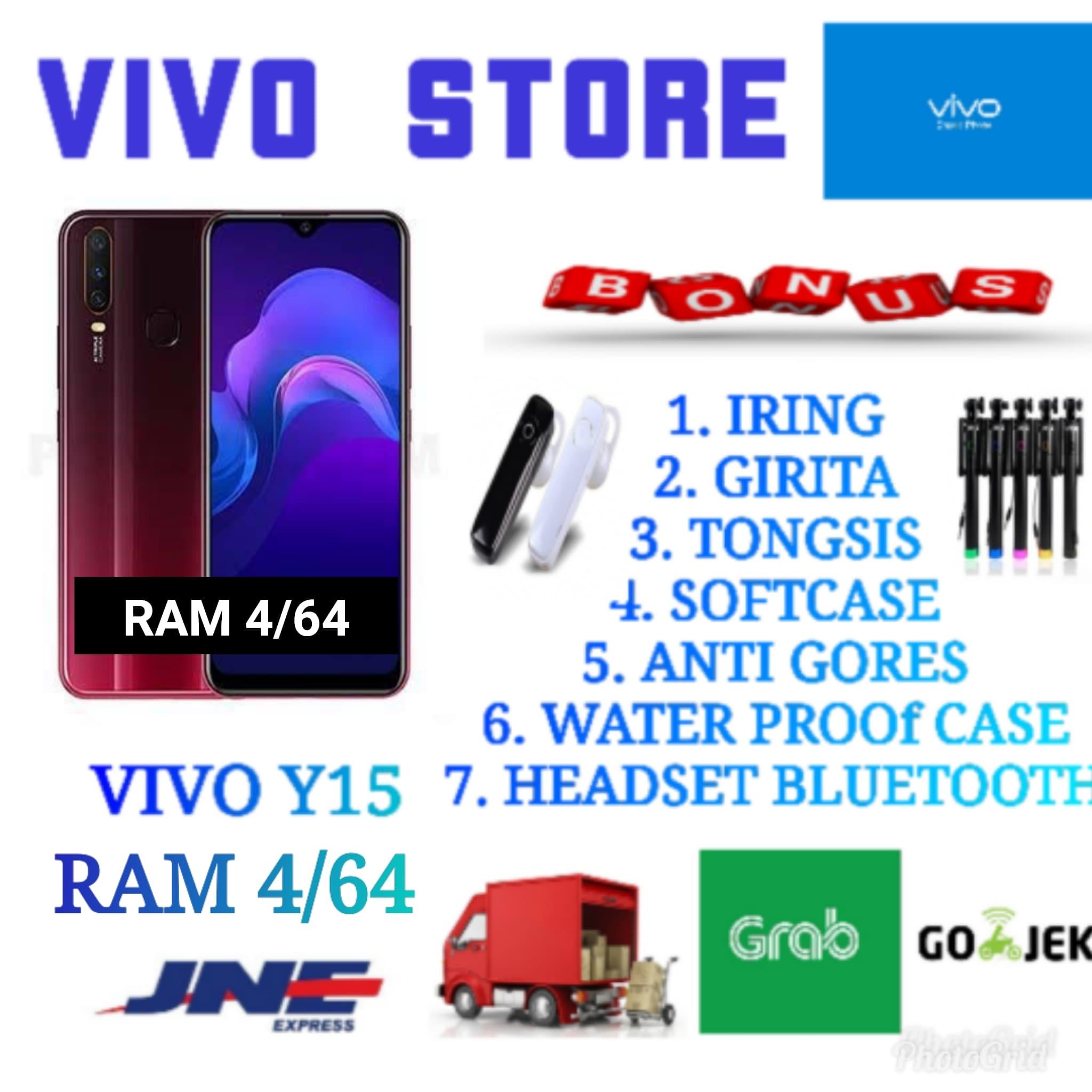 Jual VIVO Y15 RAM 4/64 GARANSI RESMI VIVO INDONESIA