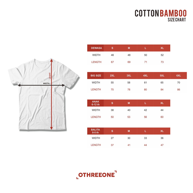 Custom Kaos Hut Ri Indonesia Merdeka 17 Agustus Cotton Bamboo