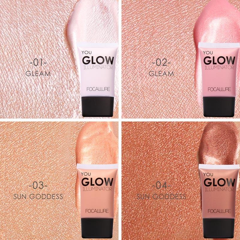 FOCALLURE Skin Glow Highlight Liquid Brighten Cream FA33 - FA33-04 thumbnail