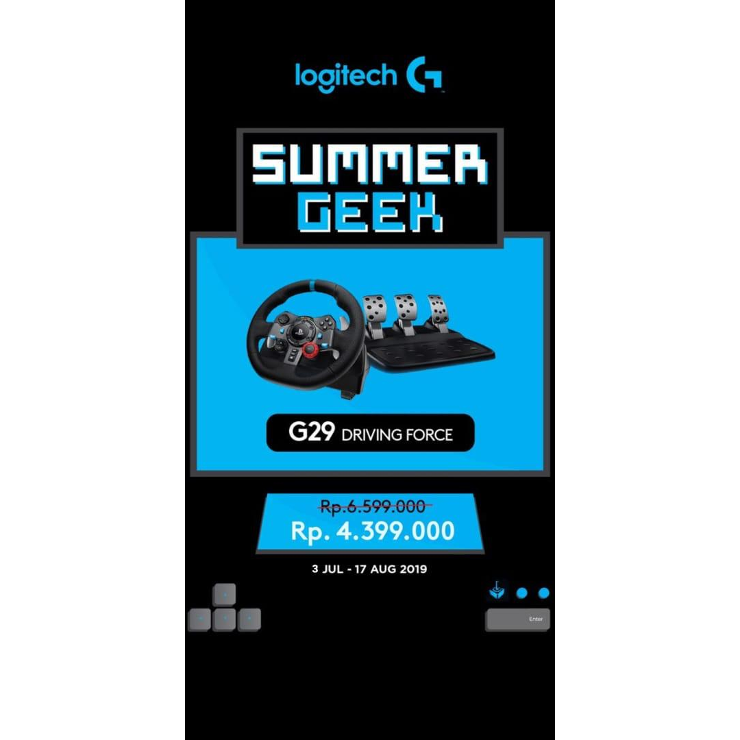 Logitech G29 Driving Force - Promo Limited!!!