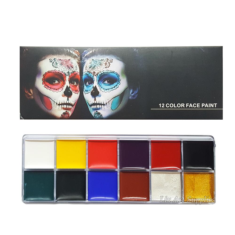 Face & Body Paint Set 12 Color thumbnail
