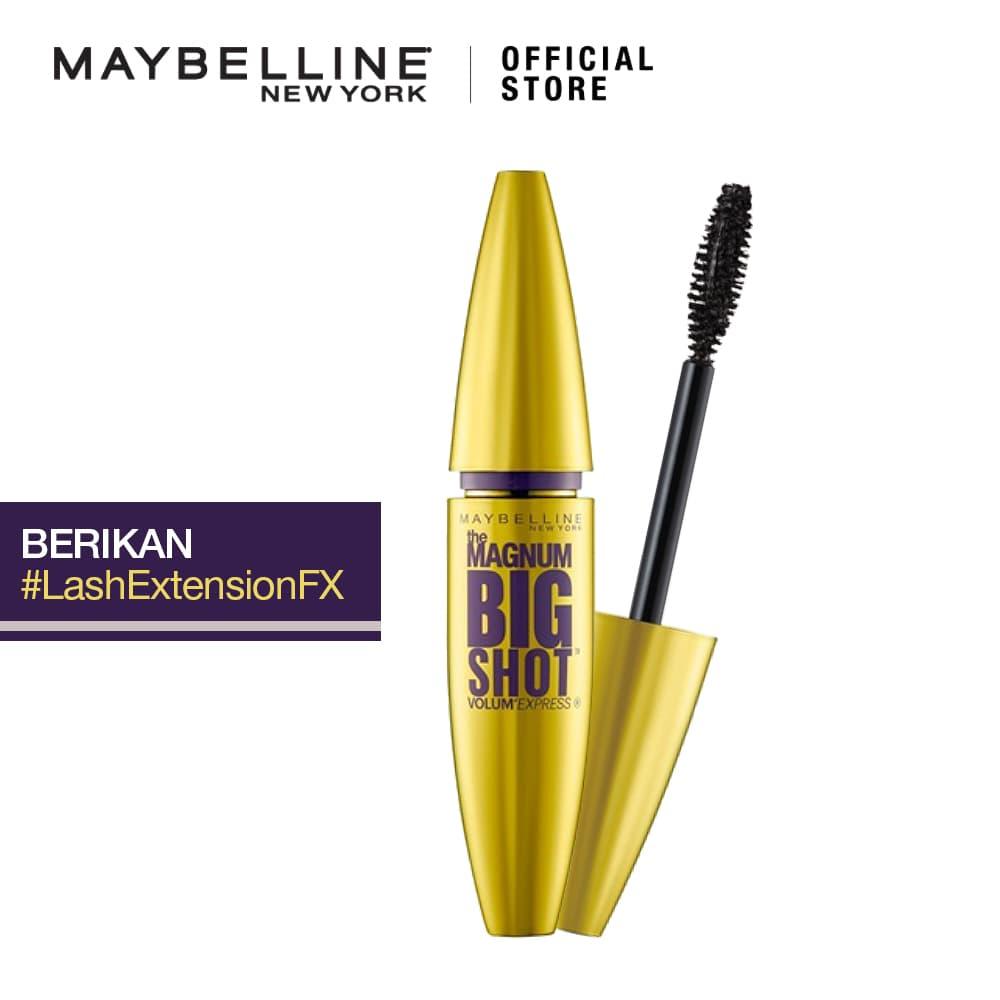 Maybelline Mascara Make Up Magnum Big Shot Waterproof - Black thumbnail