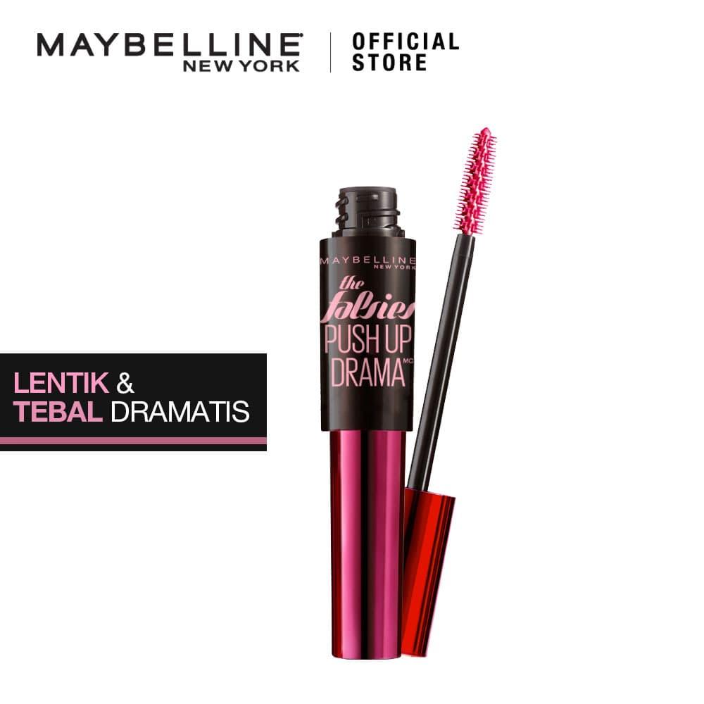 Maybelline Push Up Drama Mascara Waterproof - Black thumbnail