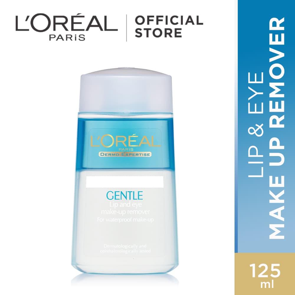 L Oreal Paris Lip And Eye Makeup Remover - Pembersih Makeup Waterproof thumbnail