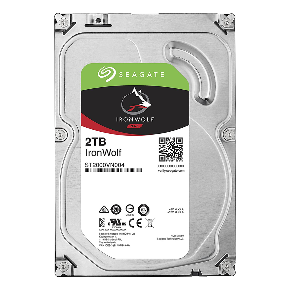 Seagate 2TB For NAS - IronWolf Series