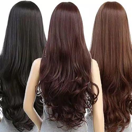 Wig Rambut Wanita Model Panjang dan bergelombang thumbnail