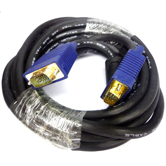 Kabel VGA To VGA 15 Meter - Merk Netline