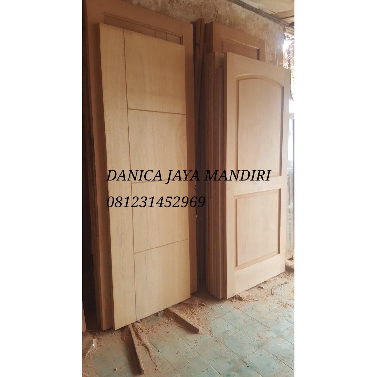 Kusen Pintu Kayu Rumah Mewah Minimalis All Size