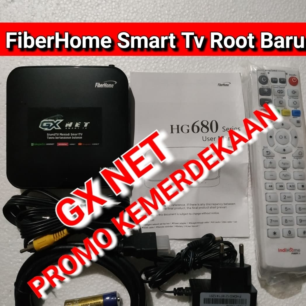 Jual TVBOX ANDROID FIBERHOME H680 ROOT FULL