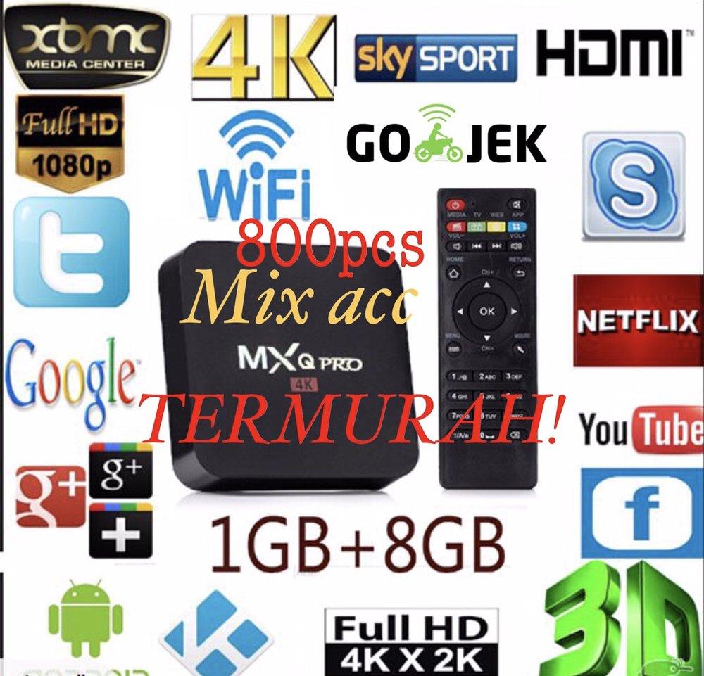 Jual TERMURAH Android TV BOX MXQ Pro 4K Smart TV Box