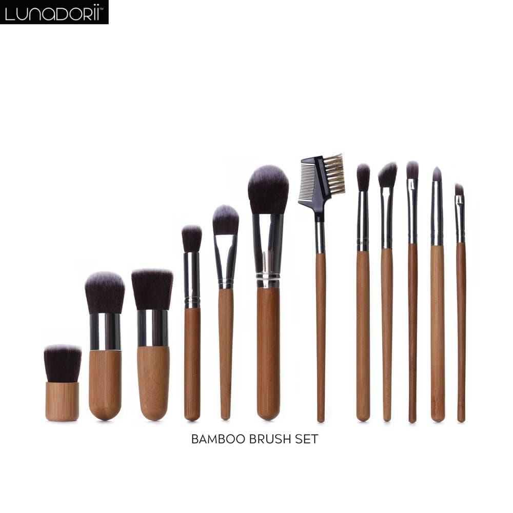 Kimasako - Bamboo Brush set, 11pcs thumbnail