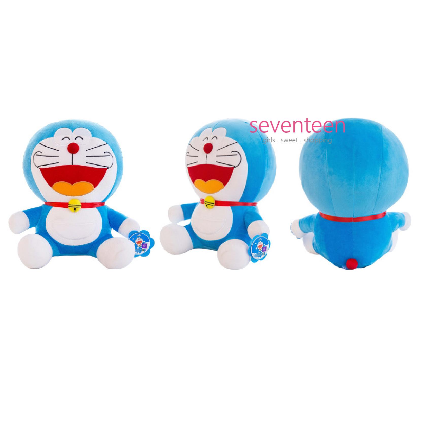 Boneka Hadiah Original Lisensi Kucing Doraemon Dorayaki Nobita Import Classic 20cm