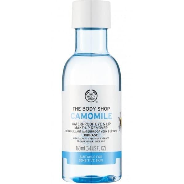 The Body Shop Camomile Waterproof Eye & Lip Make Up Remover 160 ml thumbnail