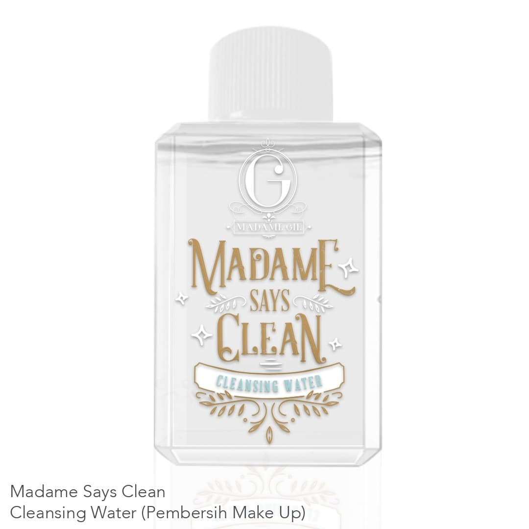 MADAME GIE SAYS CLEAN CLEANSING WATER 80ML - CLEANSING WATER MADAME thumbnail