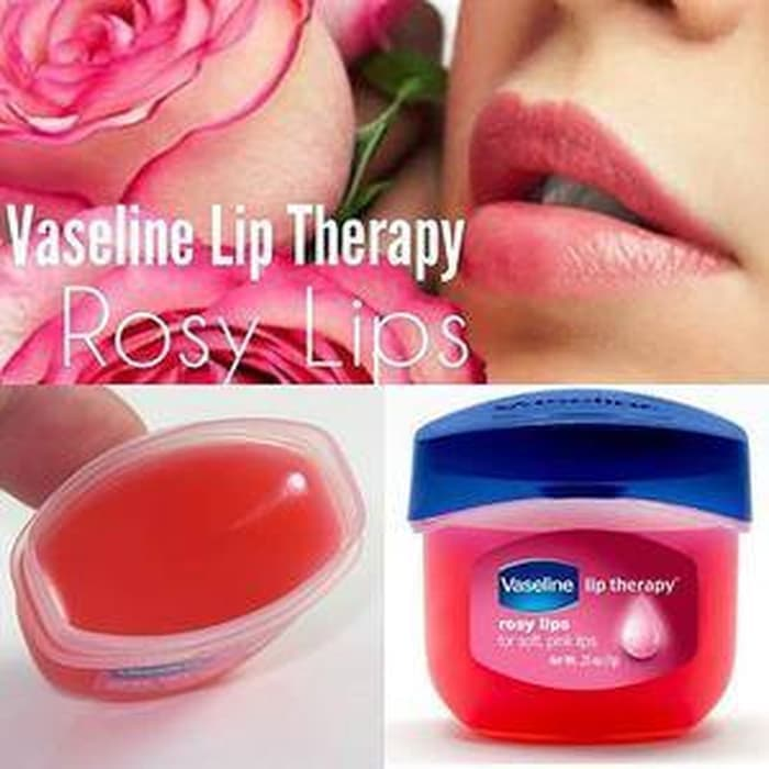VASELINE LIPS THERAPY ROSY LIPS ORIGINAL 100% BPOM - ROSY LIP THERAPY thumbnail
